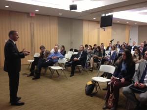יזהר שי מרצה על חדשנות ישראלית בבנק לפיתוח אמריקה הלטינית