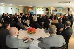 שגריר ישראל בברזיל נושא דברים באירוע