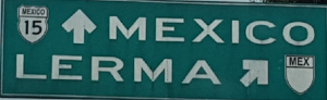 Rio Lerma sign 2