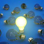 Glowing bulb lamp
