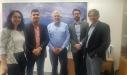 ביקור שר השיכון והמים של קולומביה