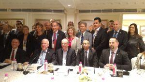 מפגש המשלחת העסקית עם נשיא מדינת ישראל