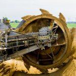paddle-wheel-bucket-wheel-excavators-brown-coal-open-pit-mining