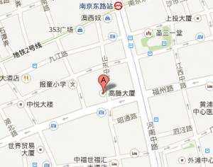 Shanghai Center Map