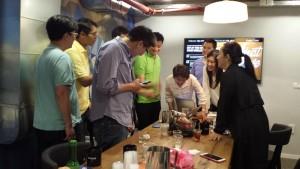 ביקור ב-WeWork ופגישה עם חברות הזנק