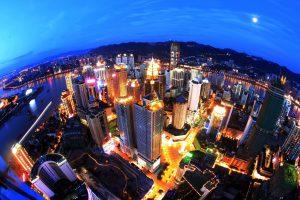 מבט על העיר צ'ונגצ'ינג, מקור: Wikimedia