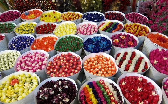 שוק הפרחים בקונמינג