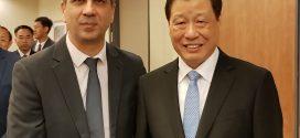 ראש עיריית שנגחאי ביקר בישראל