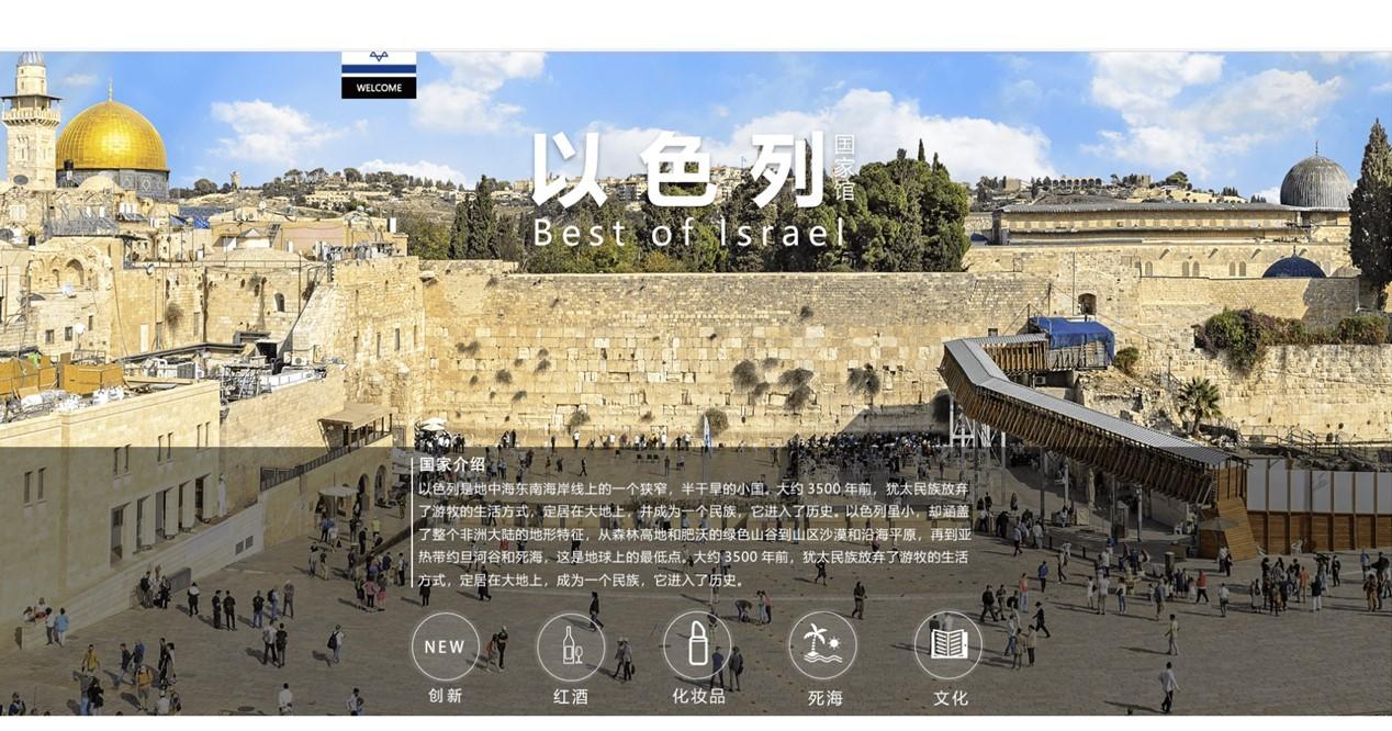 בכל סיכון יש הזדמנות – ביתן מדינה ישראלי וירטואלי ראשון מסוגו בסין