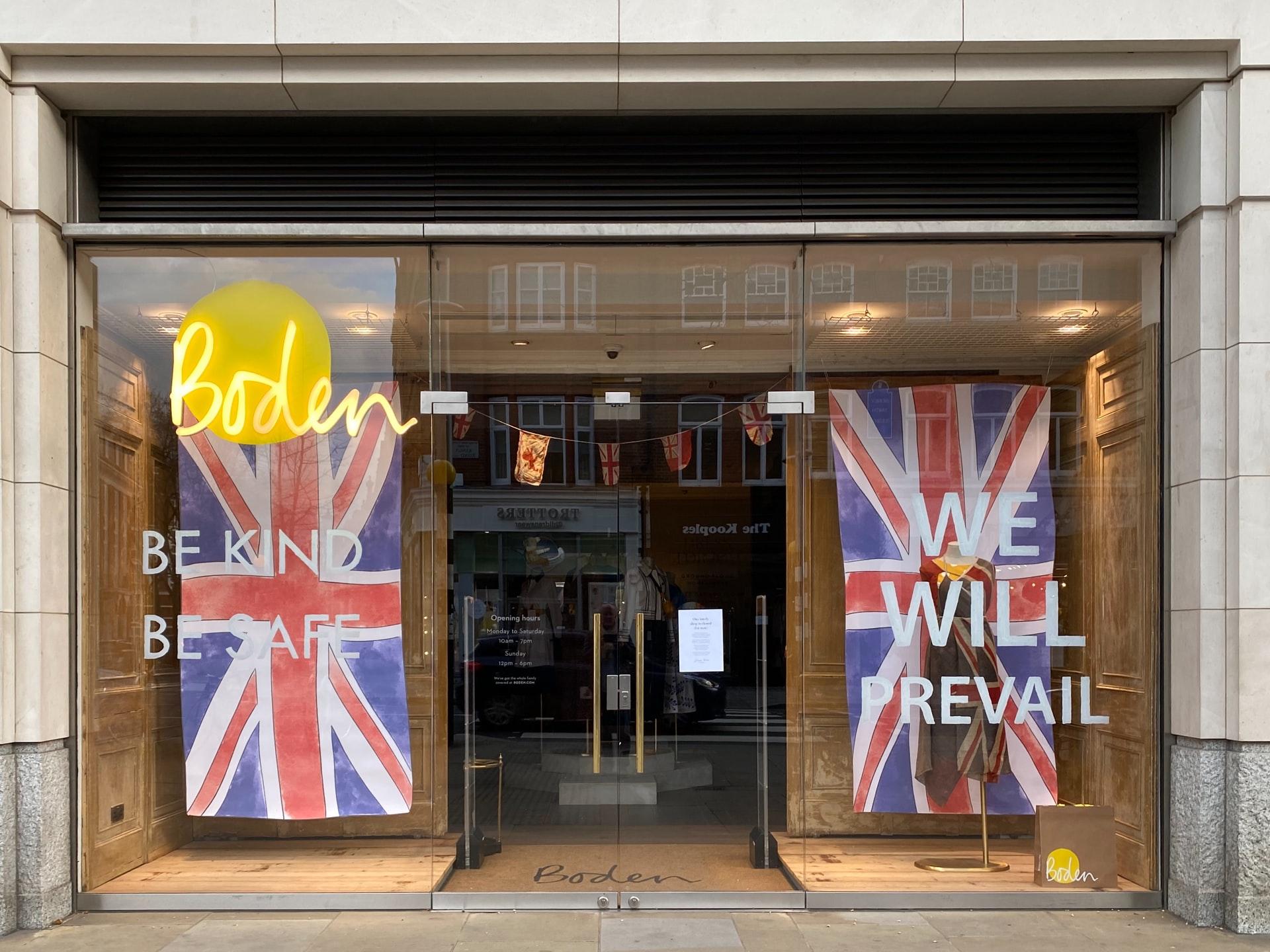 shop in England