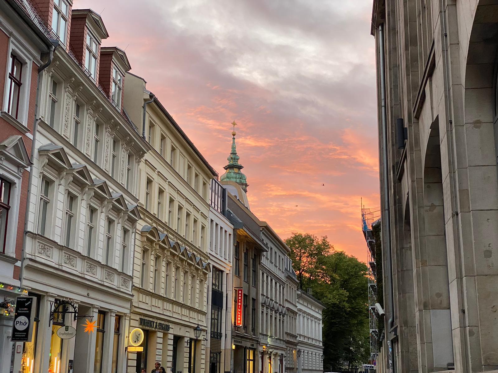 ברלין בשקיעה, צילום: אסתר אליאס