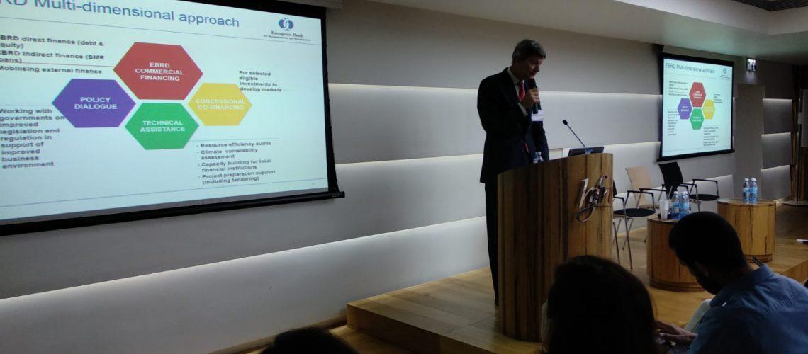 EBRD seminar in Israel, May 2019
