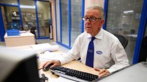 Elderly-Worker-Computer