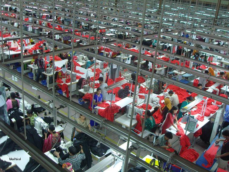 מפעל טקסטיל בבנגלדש: גזירת גורל? קרדיט וויקיפדיה