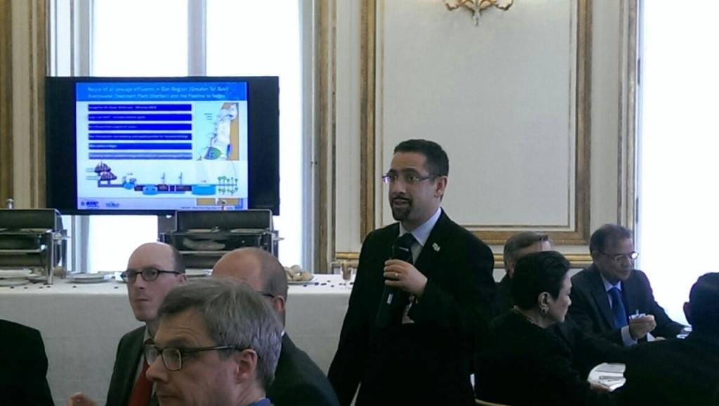 יוסי יעקובי בכנס ב-OECD