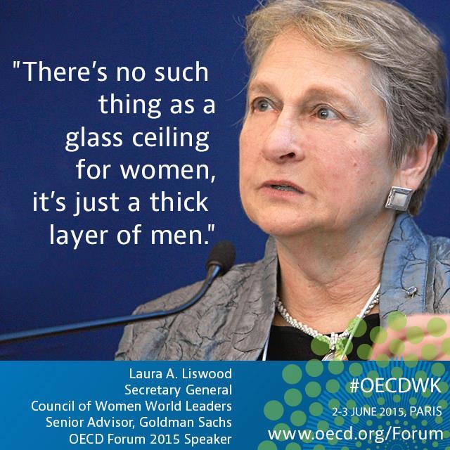 """""""אין תקרת זכוכית, רק שכבה עבה של גברים"""" לורה ליסוויד, מזכ""""ל המועצה לנשים מנהיגות"""