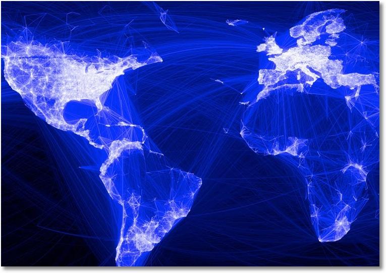 הדמיית התקשורת בפייסבוק. האם הרשת משקפת את העם או רק חלק ממנו?