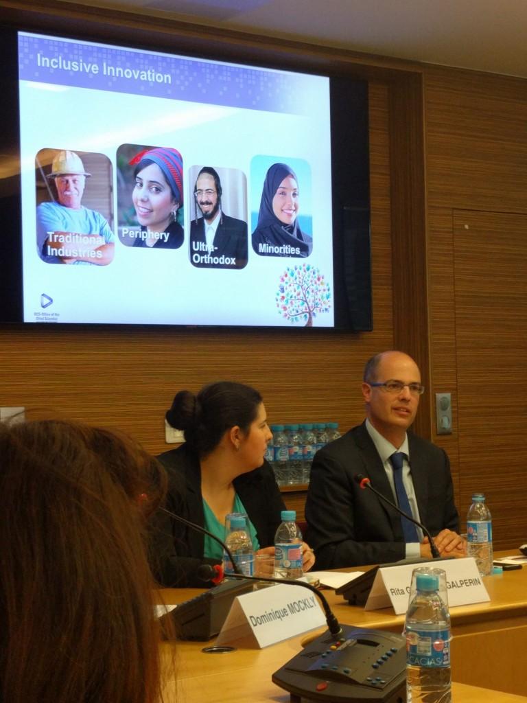 אבי חסון וריטה גולשטיין-גלפרין - המטרה של ישראל היא להישאר בפסגת החדשנות אך לצרף את 90% הנותרים לפסגה