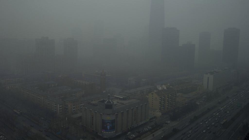 זיהום אוויר בבייג'ינג. קרדיט: NG HAN GUAN AP