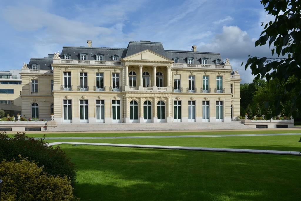 שאטו לה מואט שבו יושב ארגון ה-OECD בפריז