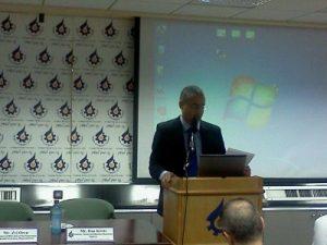 רן קויתי, מנהל הסוכנות לעסקים קטנים ובינוניים, נושא דברים בכנס