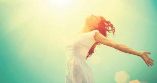 אשה שמחה אושר