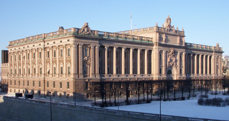 בית הפרלמנט השבדי. מקור: ויקיפדיה קרדיט: Holger Ellgaard