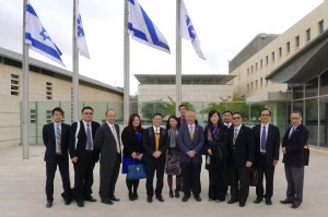 Delegation at the Ministry of Foreign Affairs 2014 Jan