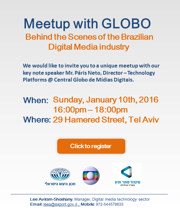 Meetup with Globo -with contact