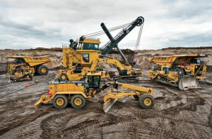 caterpillar-earth-moving-machines | Photographer: Colin Ryan