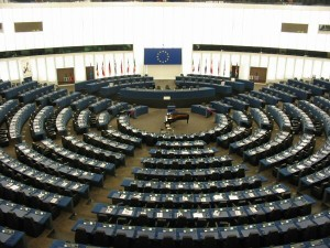"""European-parliament-strasbourg-inside"" by Cédric Puisney - Own work. Licensed under Creative Commons Attribution-Share Alike 3.0 via Wikimedia Commons"