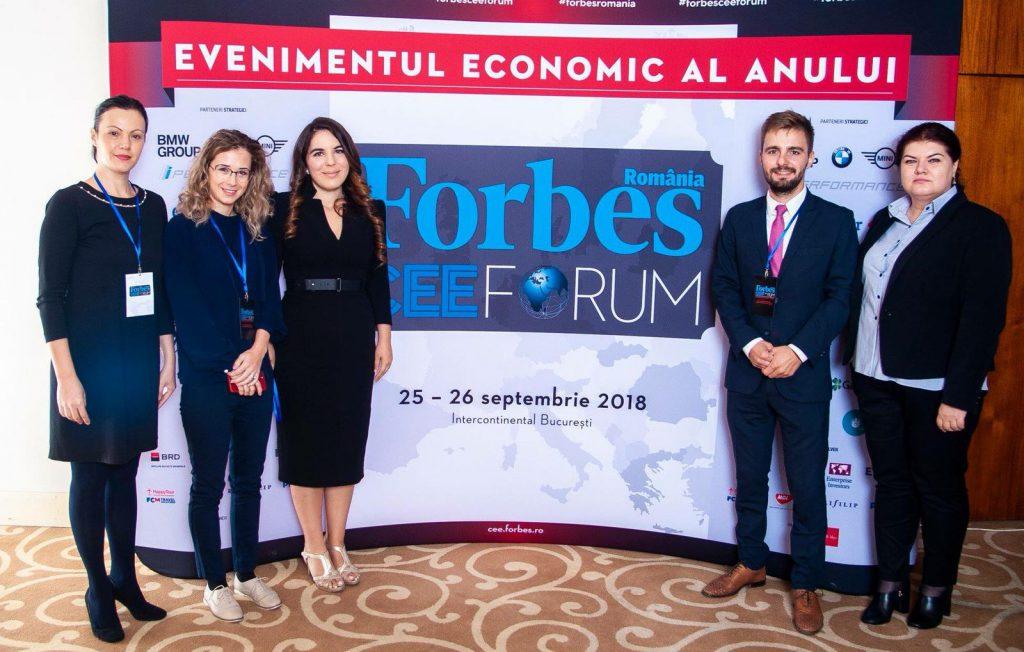 צוות הנספחות הכלכלית ברומניה - מתוך עמוד הפייסבוק של Forbes Romania