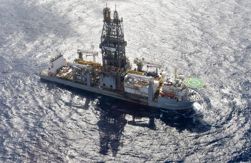 אניית הקידוח במאגר תמר, צילום: שלומי אמסלם