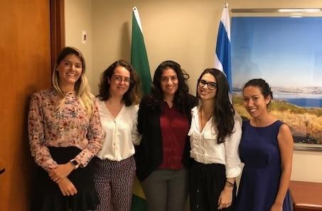 צוות הנציגות הכלכלית בריו דה ז'נרו