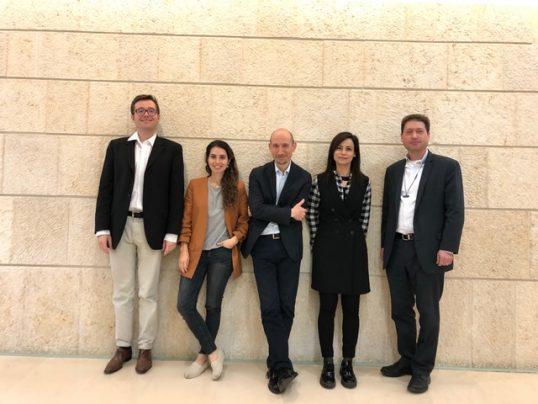 צוות הנציגות הכלכלית בפריז, 2018