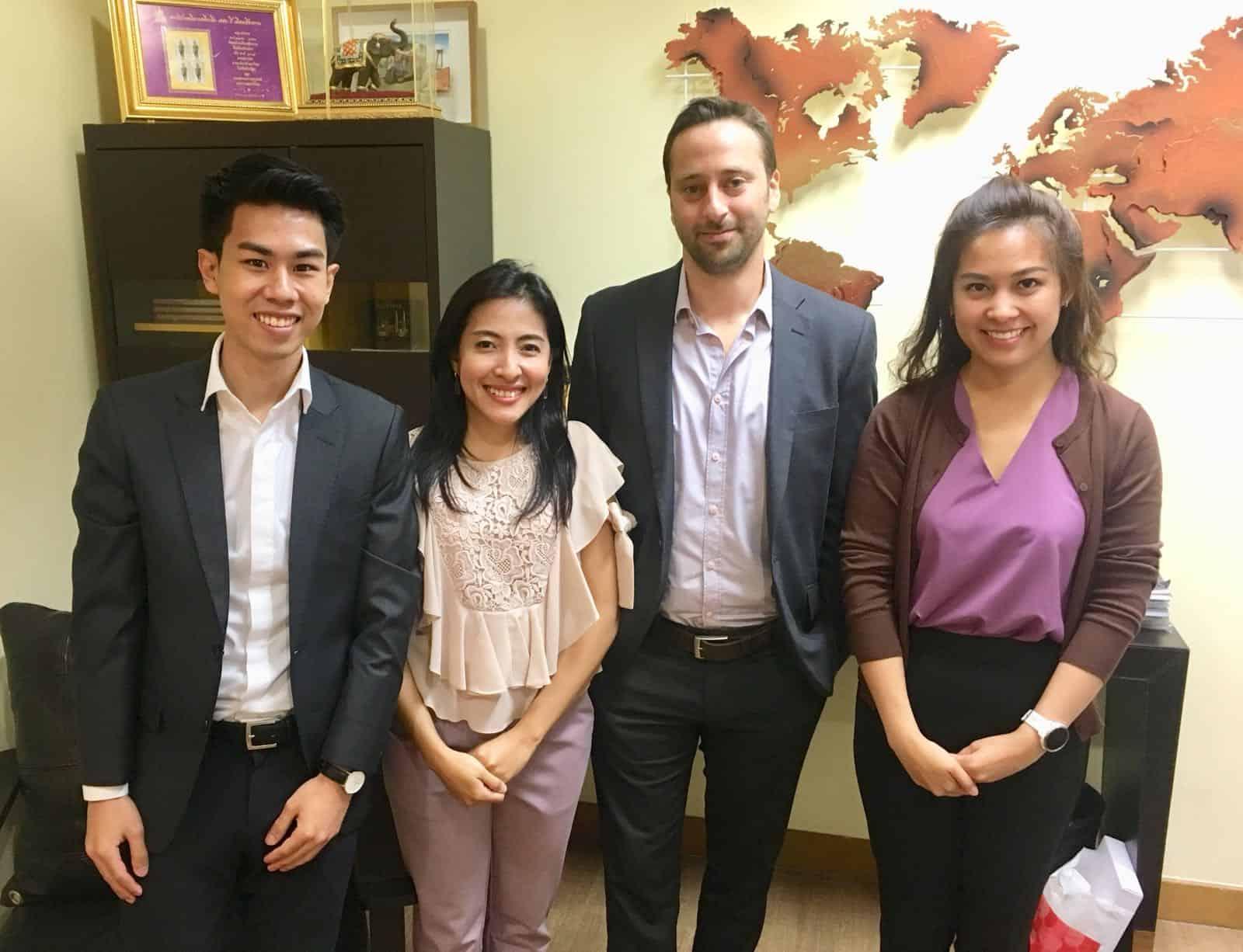 צוות הנציגות הכלכלית בבנקוק, תאילנד