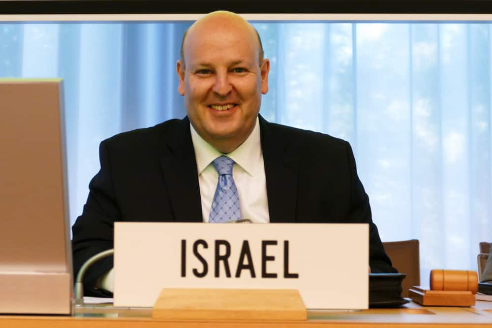 אוהד כהן, מנהל מינהל סחר חוץ, צילום: הנציגות הישראלית בג'נבה