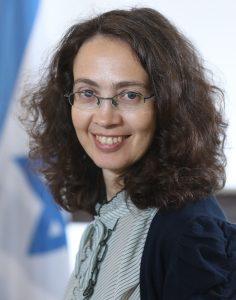 לנה זייגר, הנציגה הכלכלית של ישראל ב- OECD