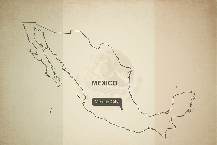 mexico outline