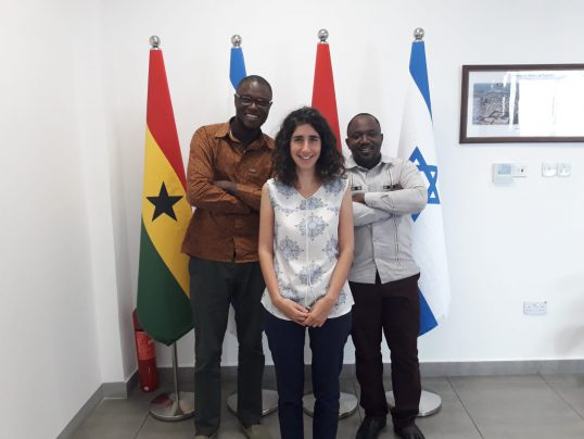 צוות הנציגות הכלכלית באקרה, גאנה