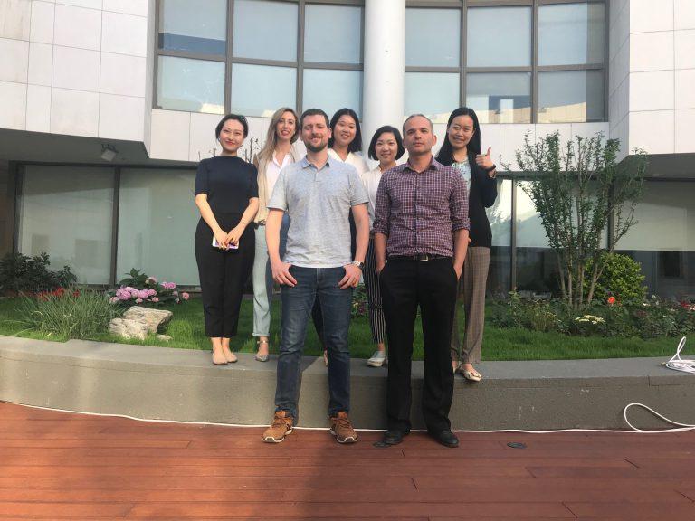 צוות הנספחות הכלכלית בבייג'ינג, סין