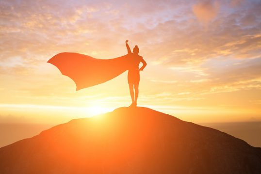 super hero sun