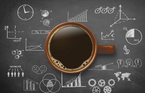 Kaffeetasse / Businesssymbole